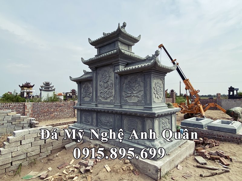Chi tiet mat sau cua Long dinh da Anh Quan