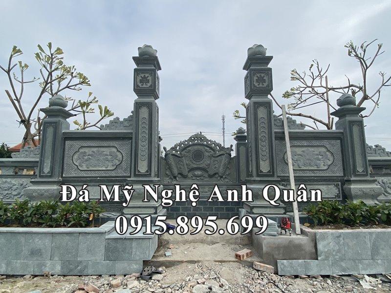 Chinh dien Cong da tu tru vao khu Lang mo dep
