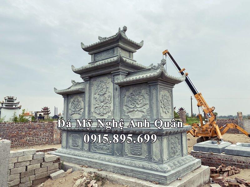 Hoa van phia sau Lang tho da (Am tho da) dep Anh Quan