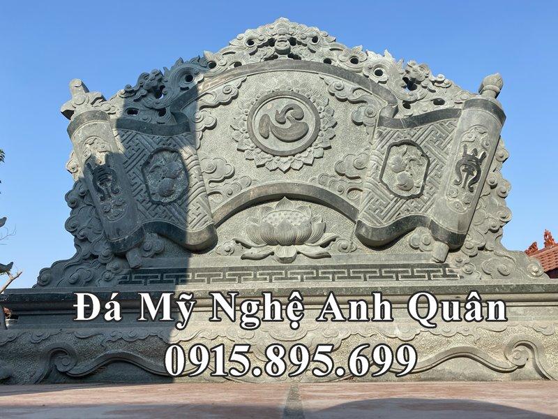 Mau Cuon thu da Binh phong da khac chu Tam y nghia