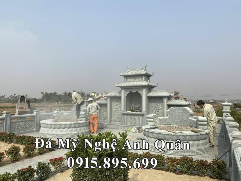 Khu Lang mo da xanh reu - Lang mo tron cao cap tai Hai Phong