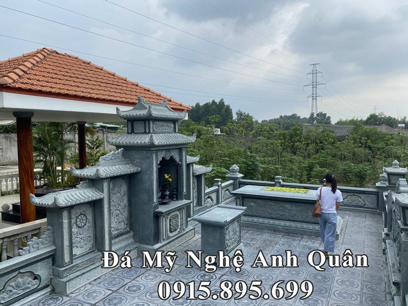 Khu lang mo da dep da xanh reu nam 2020 tai Quang Nam