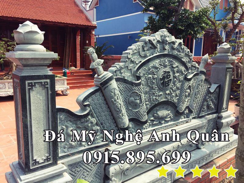 Mau Binh Phong Da DEP Da xanh reu nguyen khoi