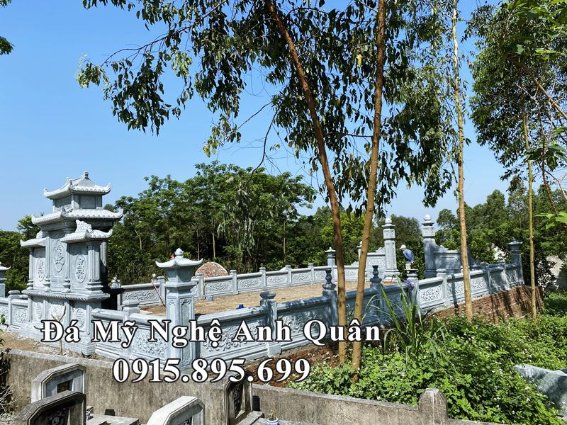 Goc nhin ve phia Lang Mo Da cao cap cua Chu Binh - Phu Tho