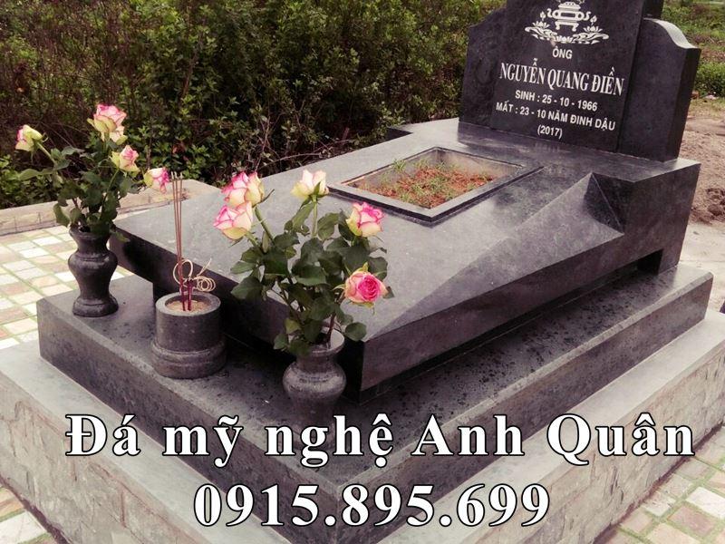 Hinh anh hoan thien Lắp đặt mộ đá tại nghĩa trang.