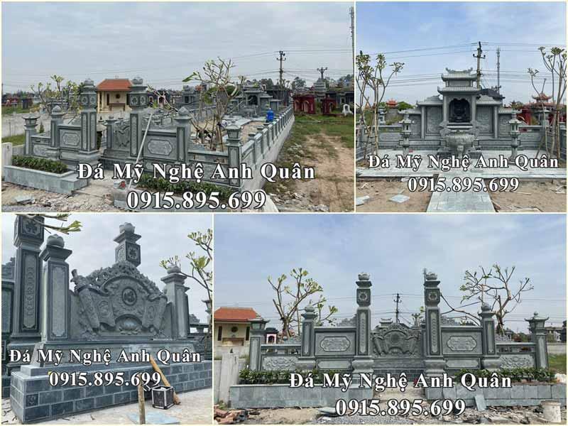 Khu Lăng mộ đá đẹp đá xanh rêu tại Thái Bình - Giá trị bền vững mai sau!