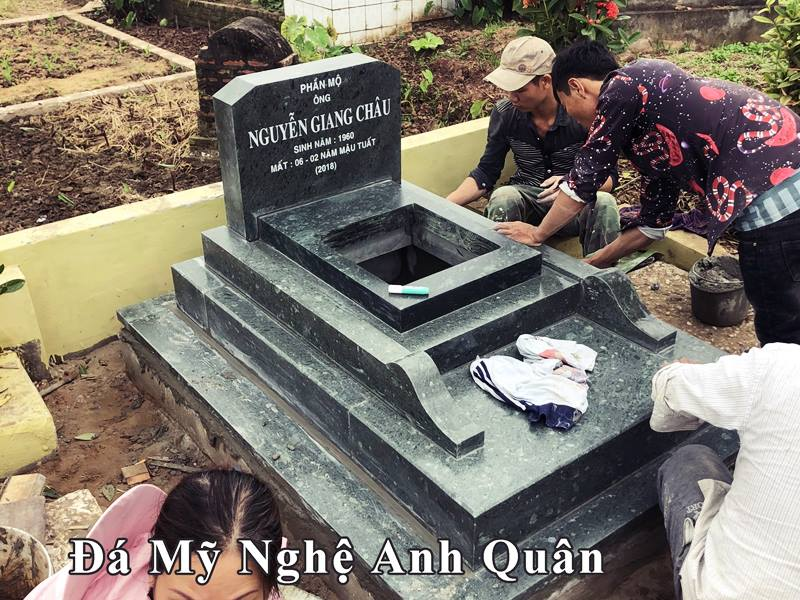 Mau mo da don xanh reu Anh Quan