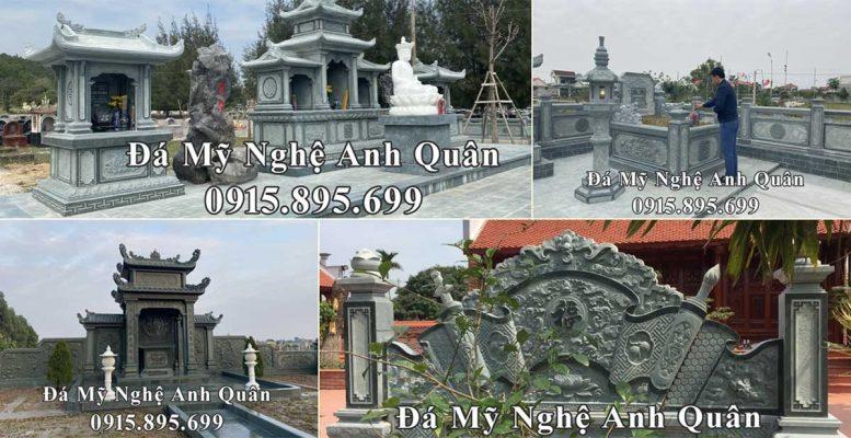 Thiết kế Lăng mộ đá đẹp - Gia công, chế tác bằng đá xanh rêu chất lượng cao, khẳng định THƯƠNG HIỆU Lăng mộ đá SỐ 1 VIỆT NAM!