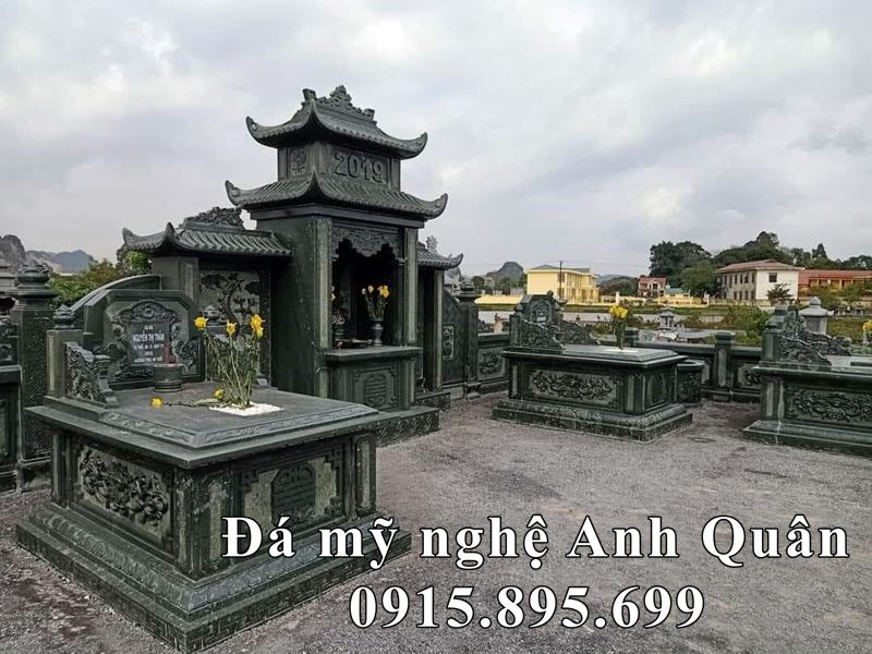 Mo Da Don Xanh Reu Dep Anh Quan - Lang mo da xanh reu