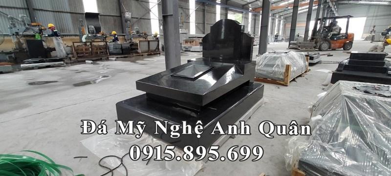 Mẫu Mộ đá granite đẹp Ninh Bình nguyên khối 100%
